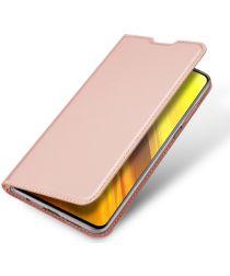 Dux Ducis Skin Pro Series Xiaomi Poco X3 / X3 Pro Hoesje Wallet Roze