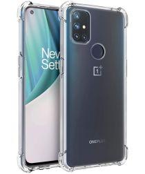 OnePlus Nord N10 Hoesje TPU Schokbestendig Transparant