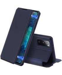Dux Ducis Skin X Series Samsung Galaxy S20 FE Hoesje Blauw