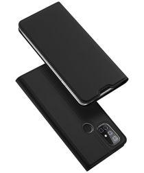 Dux Ducis Skin Pro Series OnePlus N10 Wallet Hoesje Zwart