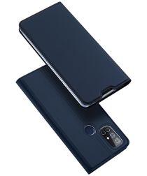 Dux Ducis Skin Pro Series OnePlus N10 Wallet Hoesje Blauw