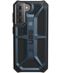 Urban Armor Gear Monarch Samsung Galaxy S21 Hoesje Blauw