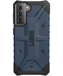 Urban Armor Gear Pathfinder Samsung Galaxy S21 Hoesje Blauw