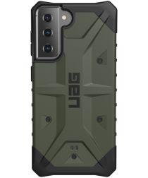 Urban Armor Gear Pathfinder Samsung Galaxy S21 Hoesje Olive