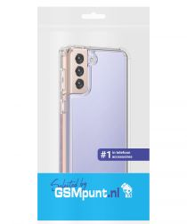 Samsung Galaxy S21 Plus Hoesje Armor Back Cover Transparant