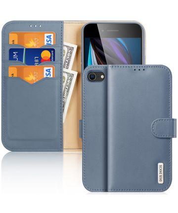 Dux Ducis Hivo Apple iPhone SE (2020) / 8 / 7 Hoesje Book Case Blauw Hoesjes