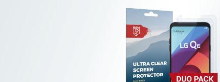 LG Q6 screen protectors