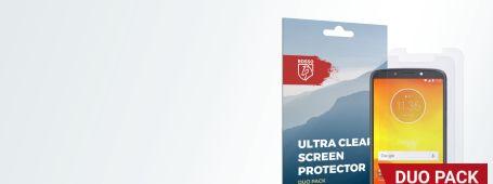 Motorola Moto E5 screen protectors