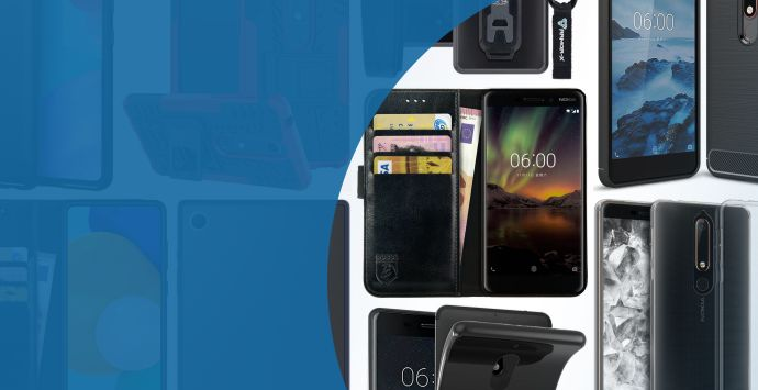 Alle Nokia 6 (2018) hoesjes
