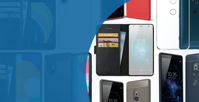 Alle Sony Xperia XZ2 hoesjes