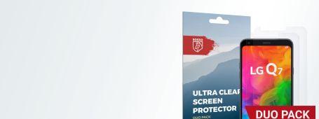 LG Q7 screen protectors