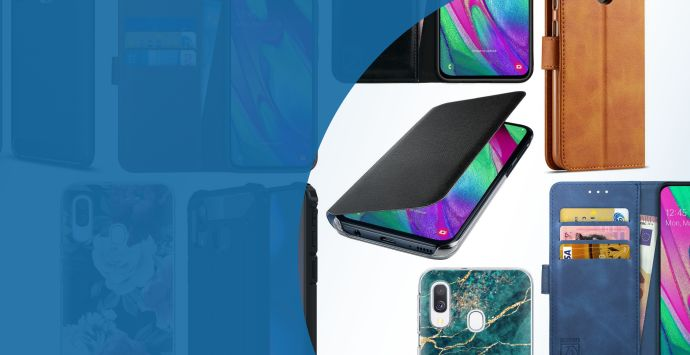 Alle Samsung Galaxy A40 hoesjes