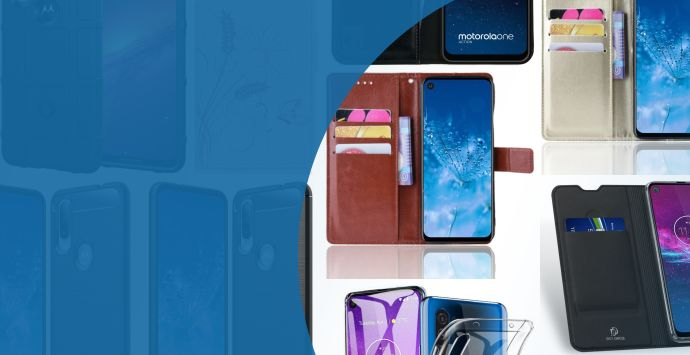 Alle Motorola One Action hoesjes