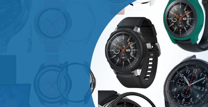 Alle Samsung Galaxy Watch 46MM smartwatch cases