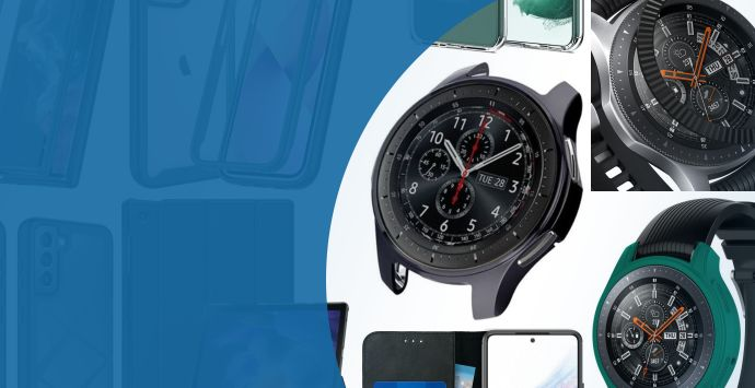 Alle Samsung Gear S3 Classic smartwatch cases