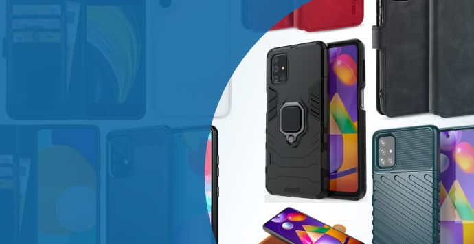 Alle Samsung Galaxy M31s hoesjes