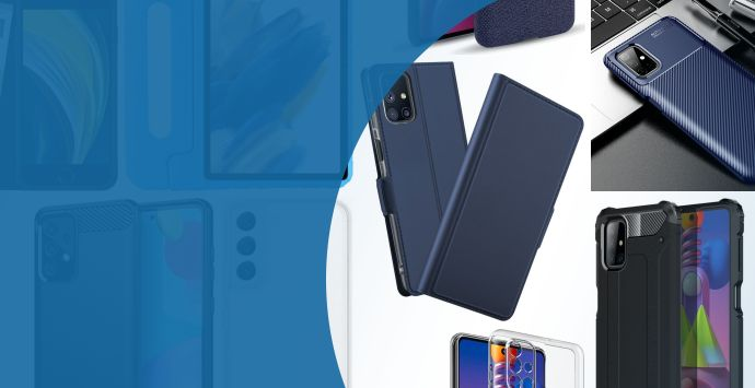 Alle Samsung Galaxy M51 hoesjes