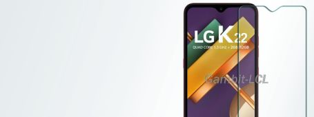 LG K22 screen protectors