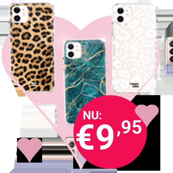 Alle hoesjes van HappyCase nu voor maar € 9,95